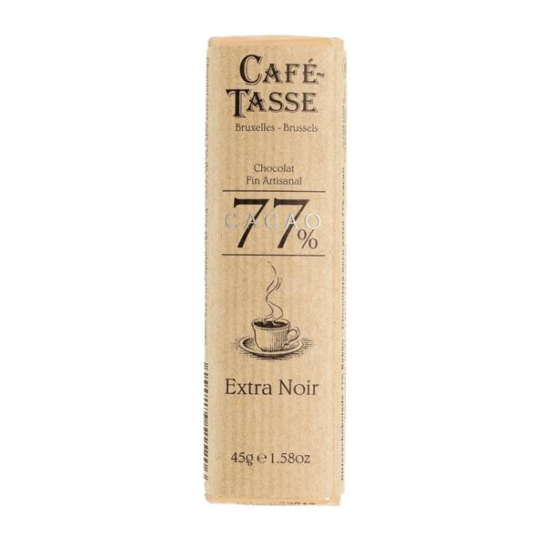 Café-Tasse белгийски шоколад-тъмен 77%